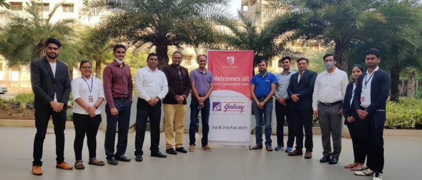 Galaxy Surfactenats Ltd, Mumbai Campus Drive at DYPCET Kolhapur