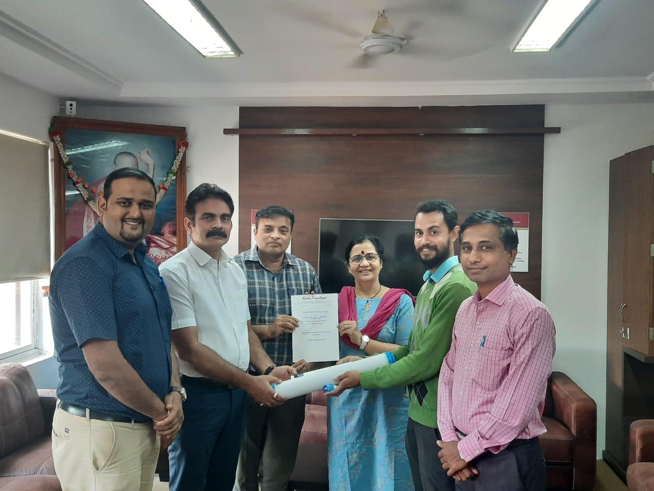 MoU Signing between Dept. of Chemical Engg. & Greenviro Solution Kolhapur (1)