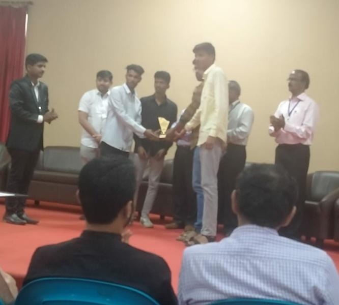 2nd proze at NIRMITI 2K20 Shivaji University Kolhapur