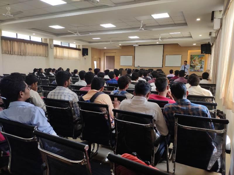 Expert Talk by Mr. Pratap Patil of Walstar Technologies on Entrepreneurship Development