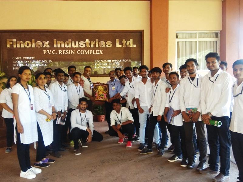 Industrial Visit to Finilex Industries Ltd. Chiplun