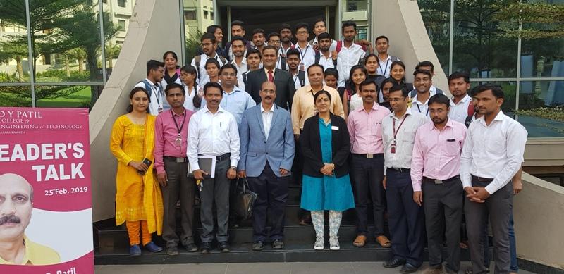 Leaders Talk by Mr. Ramesh Patil of Finlolex Industies Ltd. Chiplun.