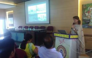 Ar.-Amarja-Nimbalkar-gave-a-seminar-on-Tourism-of-Kolhapur