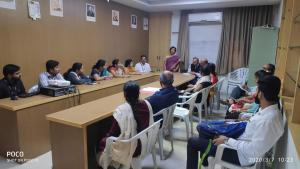 Parent Meet Conducted  in department of Entc on 7th March 2019